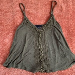 AE Tank with Cute Lace Detailing